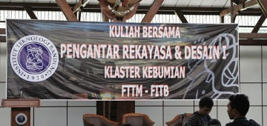 Kuliah Bersama PRD I Klaster Kebumian FTTM - FITB
