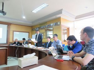 Joint Coordination Committee (JCC) Meeting of Bagus Project